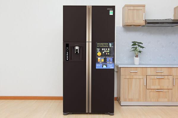 Lưu ý khi chọn kích thước tủ lạnh side by side Hitachi