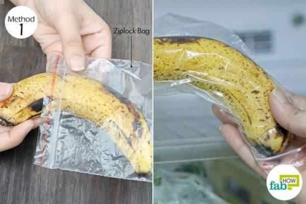 Cách Bảo Quản Chuối Chín Trong Tủ Lạnh