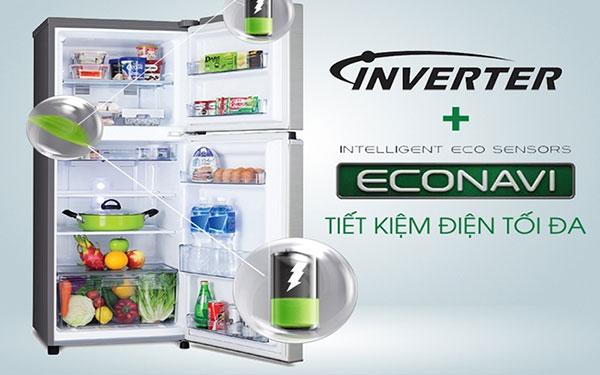 Ổn áp cho tủ lạnh Hitachi inverter