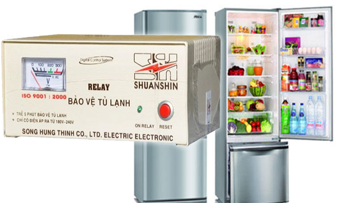 Relay bảo vệ tủ lạnh Shuanshin có tốt không?